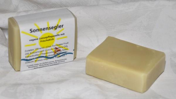 """Seife mit Basilikum- & Zitrus-Geruch """"Sonnensegler"""""""