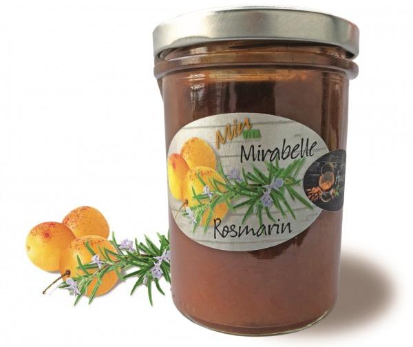 Fruchtaufstrich Mirabelle & Rosmarin