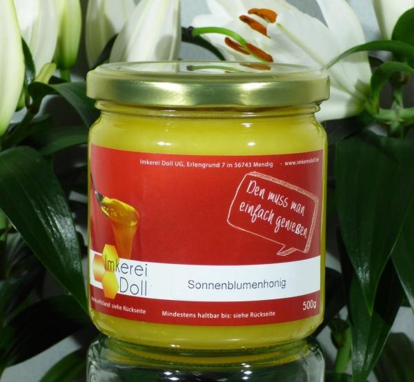 Sonnenblumenhonig 500g | Loma.eco | Imkerei & Honighandel Doll