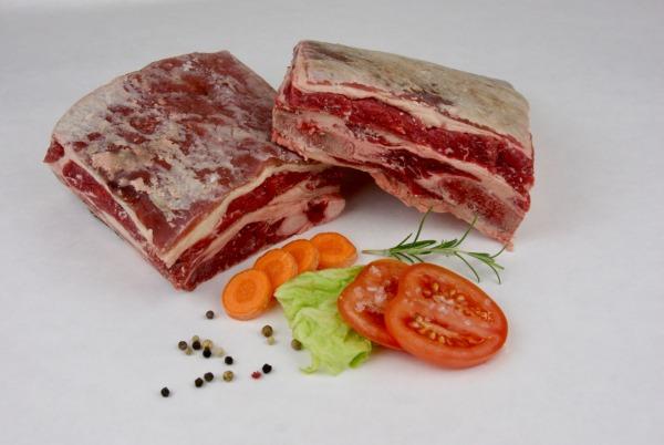 Rinderrippe bzw. Suppenfleisch vom Rind