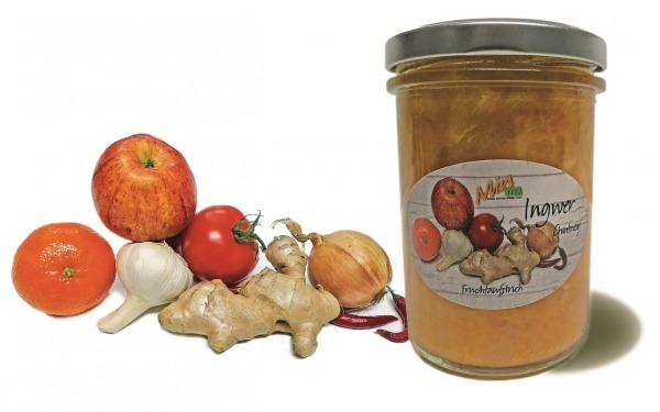 Ingwer-Chutney Fruchtaufstrich