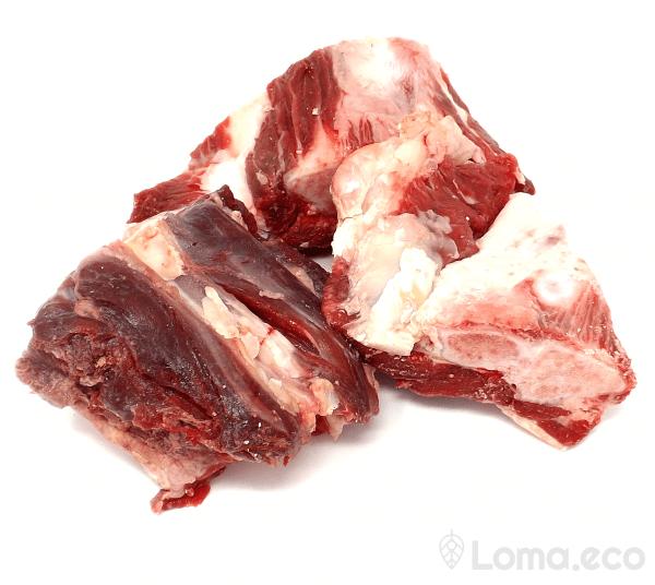 Hundefutter - Muskelfleisch mit Kochen vom Hochlandrind