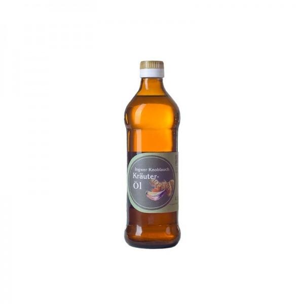 Kräuteröl Knoblauch Ingwer