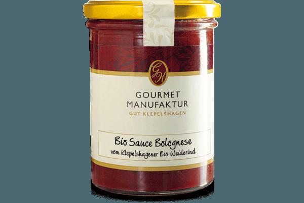 """Sauce Bolognese- """"Bio Sauce Bolognese"""", zubereitet"""