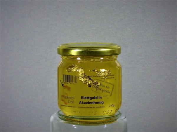 Blattgold in Akazienhonig 250g