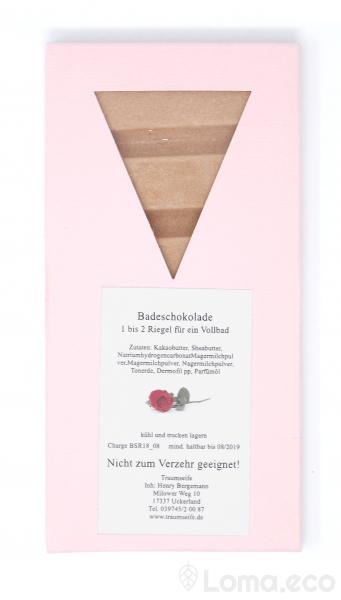 Badeschokolade Rose