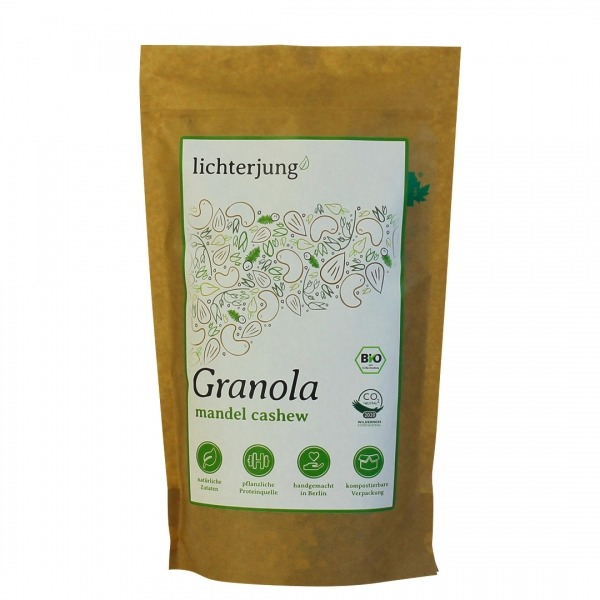 Bio Granola mit Mandel & Cashew