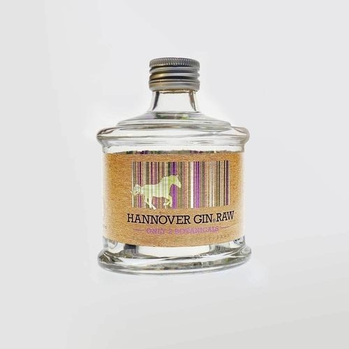 """Gin """"HANNOVER GIN RAW • ONLY 2 BOTANICALS"""""""
