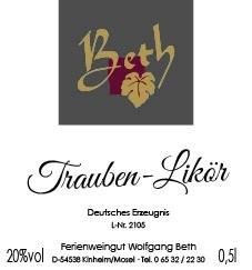 Trauben-Likör