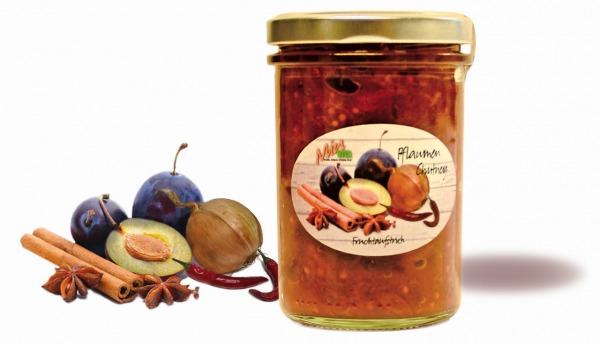 Pflaumen-Chutney Fruchtaufstrich