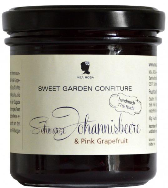 """Konfitüre """"Schwarze Johannisbeere & Pink Grapefruit"""""""