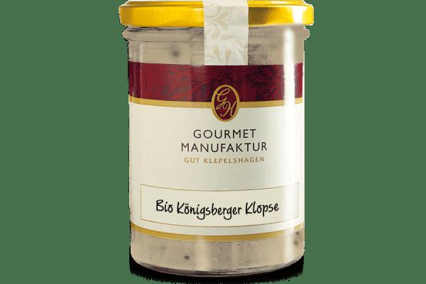 """Königsberger Klopse- """"Bio Königsberger Klopse"""", zubereitet"""