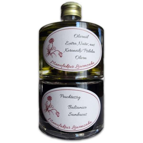 Stapelflasche Balsamico Sambucus