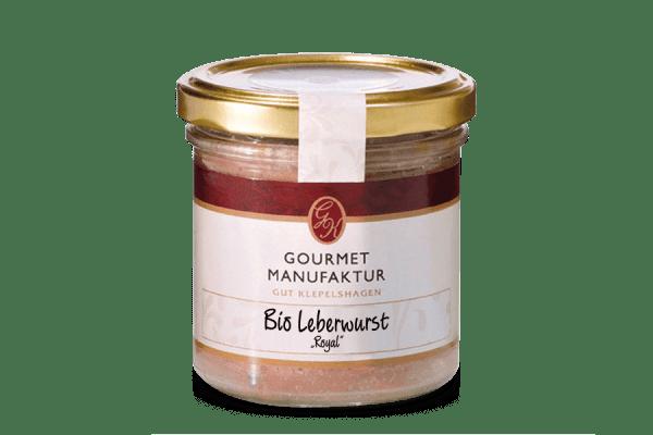 "Leberwurst- ""Bio Leberwurst Royal"""