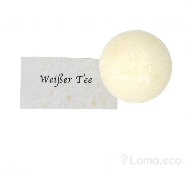 "Badekugel ""Weißer Tee"""