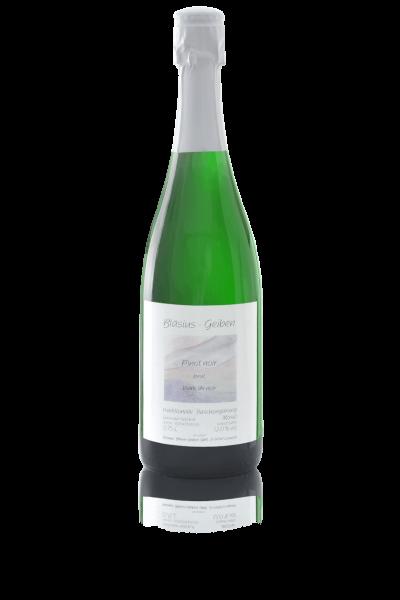 Pinot noir brut blanc de noir Sekt 2018er | Loma.eco | Weingut Bläsius-Geiben