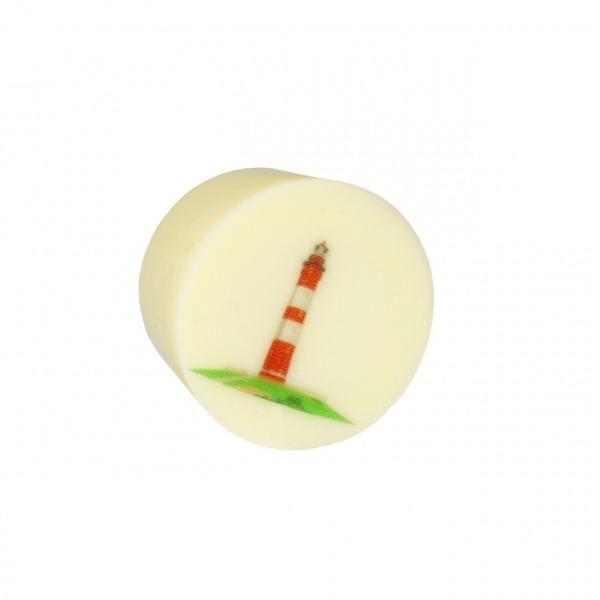 Praline Vanille Töpfchen mit Leuchtturm
