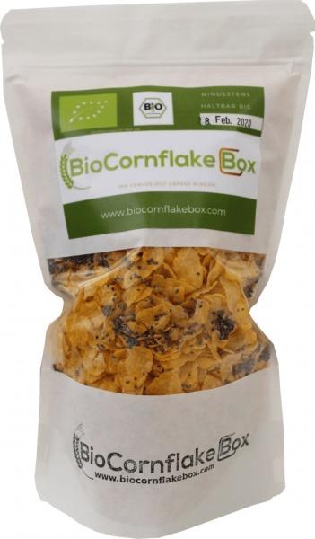 """Bio-Cornflakes, zuckerfrei, mit Chiasamen- """"Superfrühstück"""""""