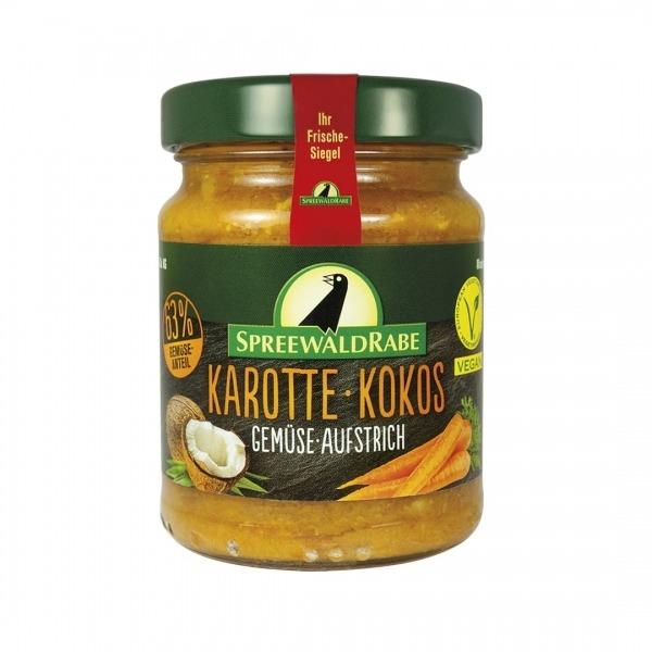 Gemüse Aufstrich - Karotte Kokos