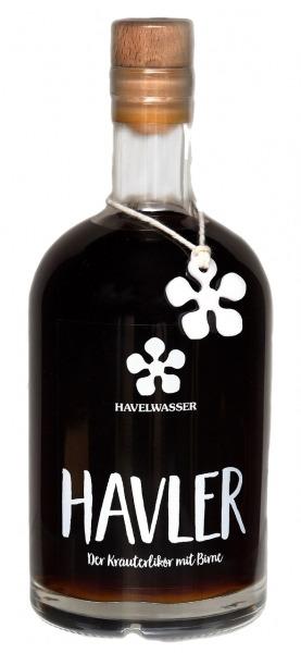 Havler - Der Kräuterlikör mit Birne | Loma.eco | Havelwasser