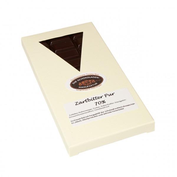 Zartbitterschokolade mit 70% Kakao