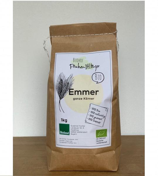 EMMER-Körner in Bio-Qualität 1 kg