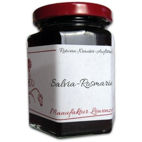 "Gelee Rotwein-Kräuter ""Salvia-Rosmarinus"""