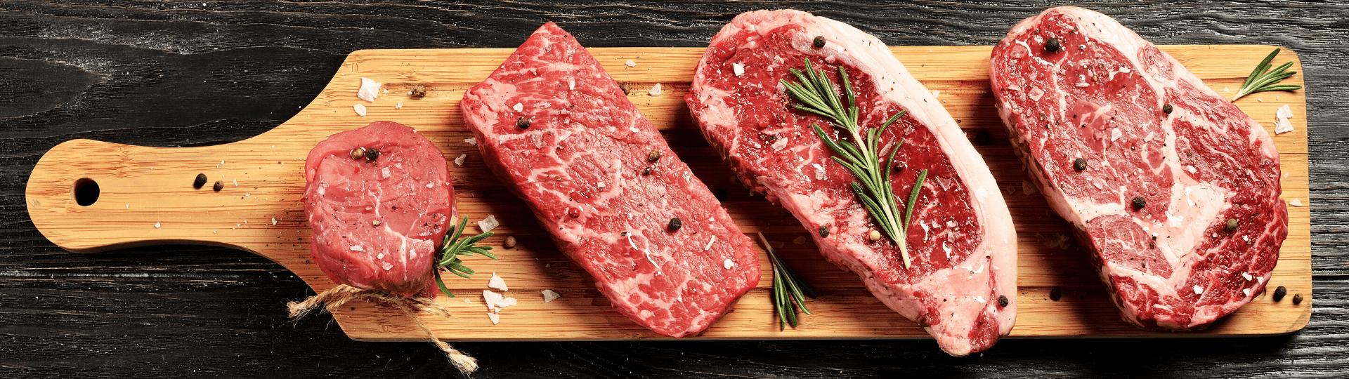Rindfleisch-Produkte