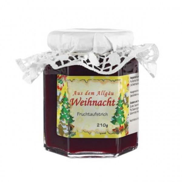 Weihnacht Marmelade