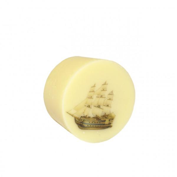 Praline Vanille Töpfchen mit Segelschiff