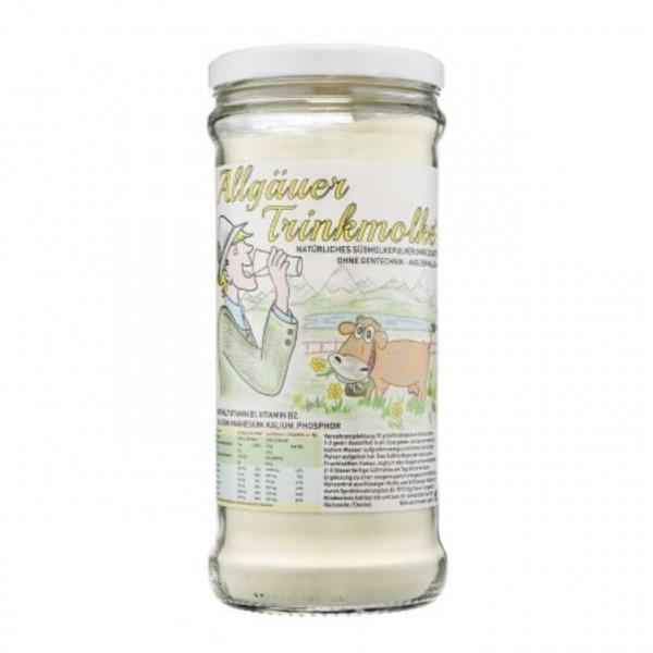 Allgäuer Trinkmolke Rundglas