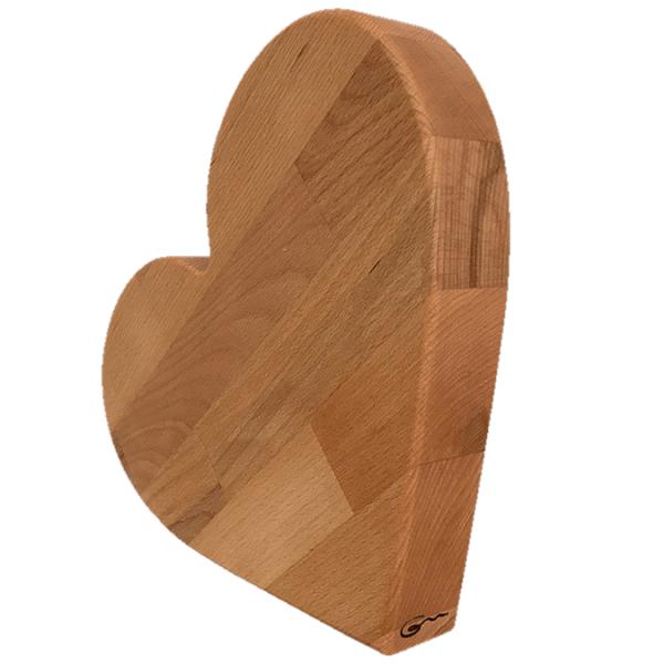 """Herz groß aus Holz """"Amelie von Goertz"""""""