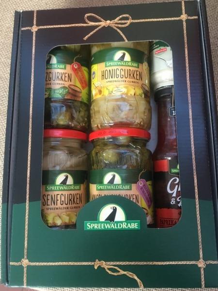 Gruß aus Spreewald mit Grill Sauce