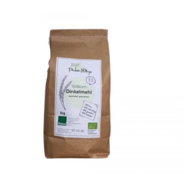 DINKEL Bio-Vollkornmehl 1 kg | Loma.eco | Biohof Fischer-Ittlinger