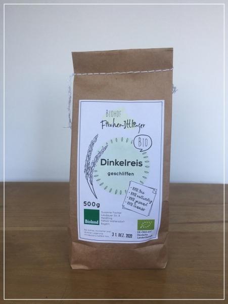 DINKEL-Reis in Bio-Qualität 500g