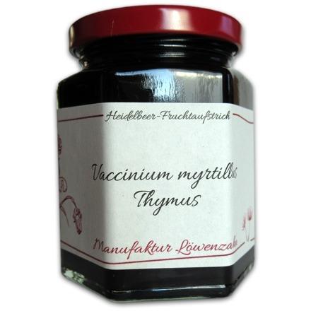 """Fruchtaufstrich Heidelbeer """"Vaccinium myrtillus"""""""