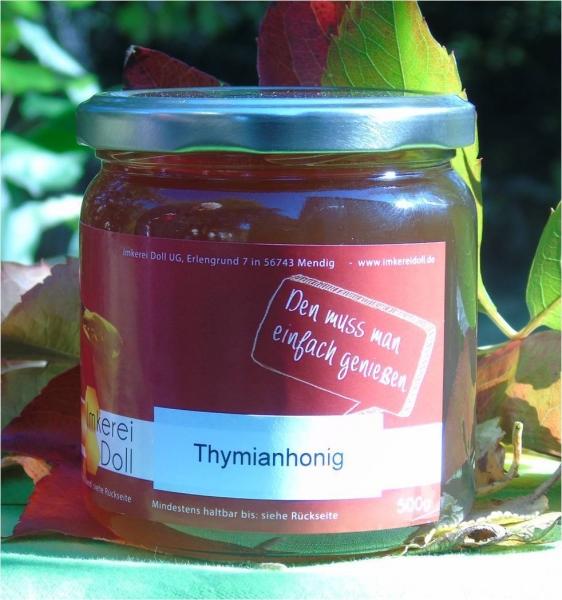 Thymianhonig 500g | Loma.eco | Imkerei & Honighandel Doll