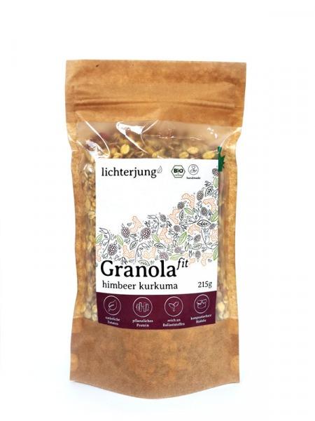 Bio Himbeer Kurkuma Granola