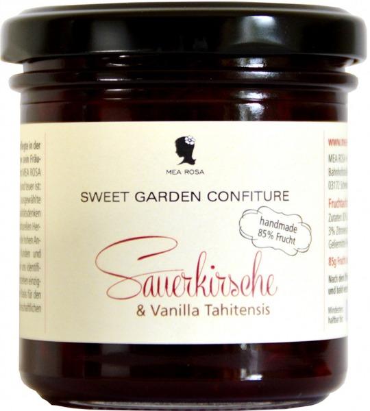 """Konfitüre """"Sauerkirsche & Vanilla Tahitensis"""""""