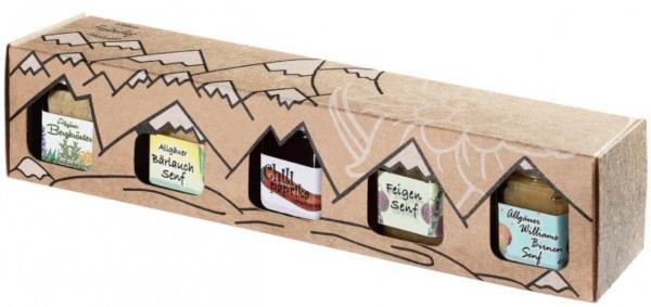 Allgäuer Genuss Box Senf