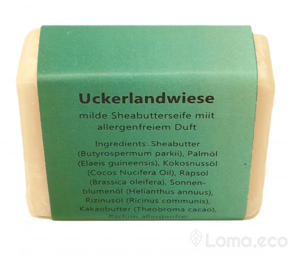 """Sheabutterseife """"Uckerlandwiese"""""""