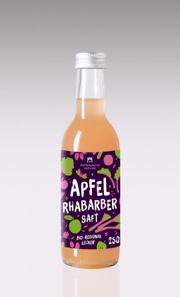 "Apfel-Rhabarbersaft ""Bugaloo"" 16er Paket"