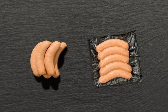 """Bratwurst """"Käsekrainer"""" vom Aktivstall-Schwein"""