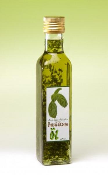 Basilikum Öl