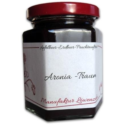 """Fruchtaufstrich Apfelbeer-Erdbeere """"Aronia -Traum"""""""