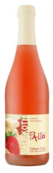 Erdbeer Secco trifft weiße Schokolade – Palio   Loma.eco   Wein & Secco Köth