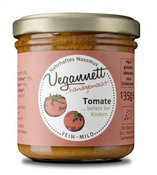 Tomatenaufstrich mit Erdnuss- und Cashewnussmus | Loma.eco | Vegannett Biomanufaktur