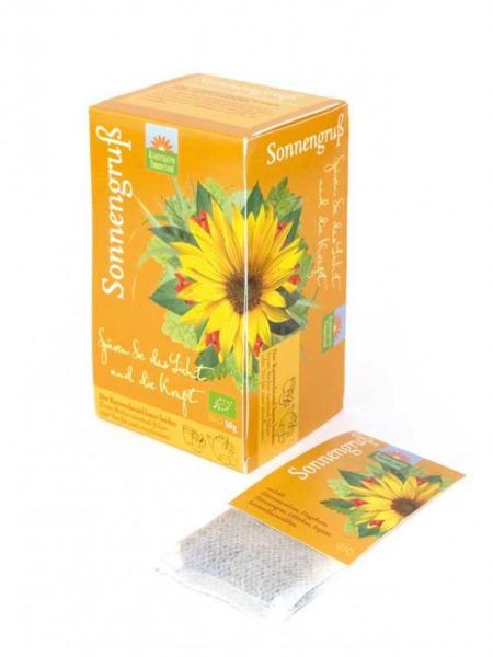 Sonnengruß Tee – Kannenbeutel