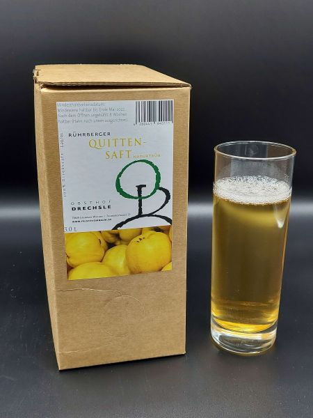 Quittensaft 3 l   Loma.eco   Obsthof Drechsle