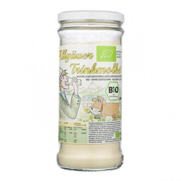 Allgäuer BIO Trinkmolke 1kg Glas